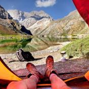 О правильном выборе и установке палатки.