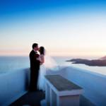 медовый месяц в Санторини