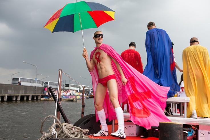 амстердам гей парад