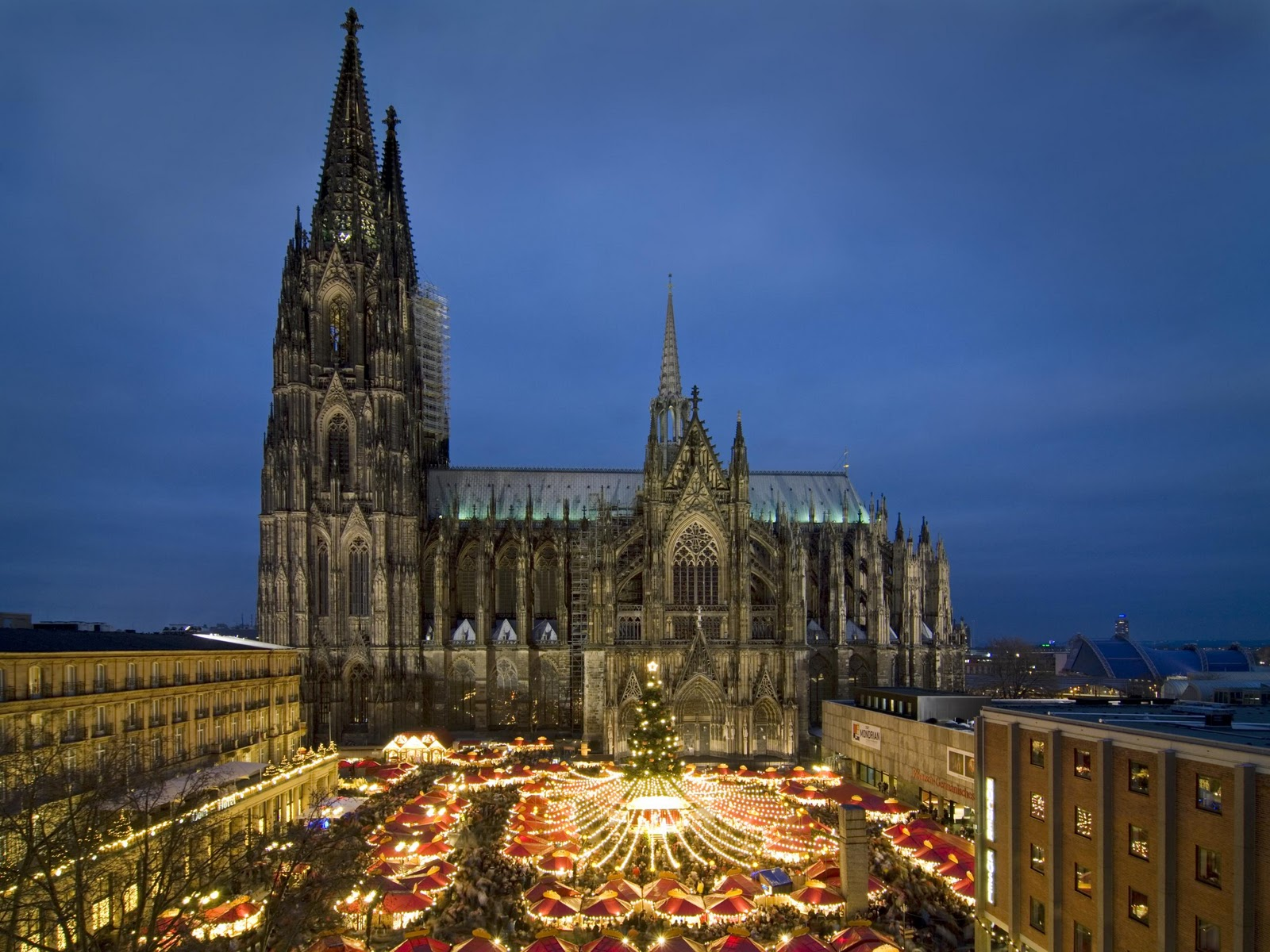 Cologne cathedral Xmas Mkt