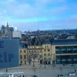 Метц,Франция. Вид на город с колеса обозрения